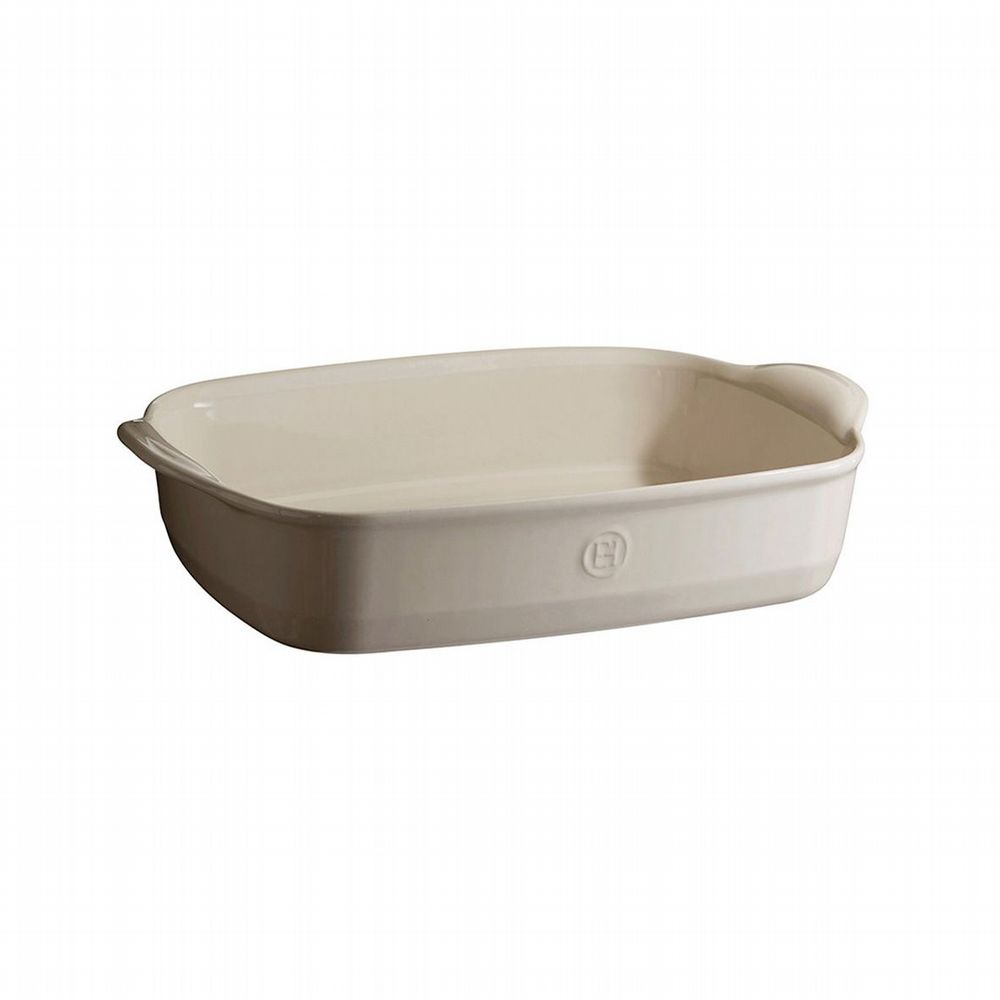 Emile Henry - Rectangular Oven Dish - Medium - White